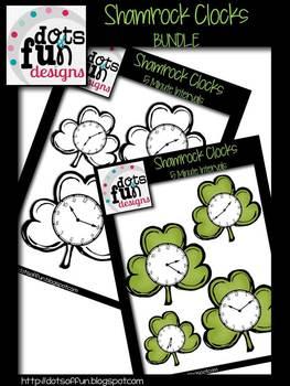 Shamrock Clock Bundle ~Dots of Fun Designs~
