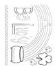 Shamrock Color Sheets and Patterns