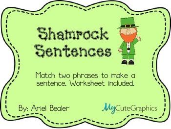 Shamrock Complete Sentences
