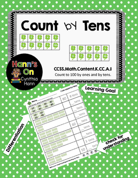 Shamrock Count By Tens