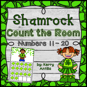 Shamrock Count the Room- Numbers 11-20