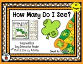 Shamrock - Count to 10 Adapted Interactive Reader & Activi