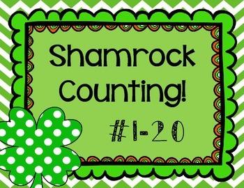 FREEBIE! Shamrock Counting