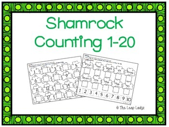 Shamrock Counting Practice 1-20
