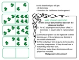 Shamrock Dominoes (5 games in one!)