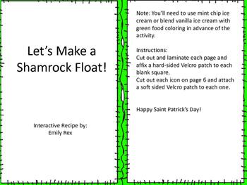 Shamrock Float Adapted Recipe