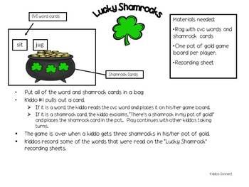 Shamrock Freebie