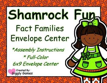 Shamrock Fun Fact Families Envelope Center