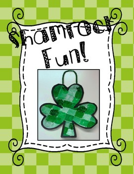 Shamrock Fun - Perfect for St. Patrick's day - Easy Art Project - FREEBIE