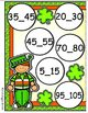 Shamrock Fun Skip Counting by 5s File Folder Game