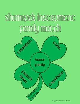 Shamrock Instrument Family Match
