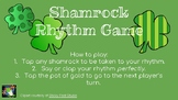 Shamrock Interactive Rhythm Game (Half Note)