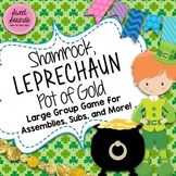 Shamrock Leprechaun Pot of Gold Freeze Game