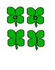 Shamrock Letter Matching Activity for Preschool and Special Education