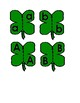 Shamrock Letter Puzzles for Preschool and Special education