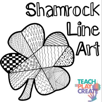 Shamrock Line Art