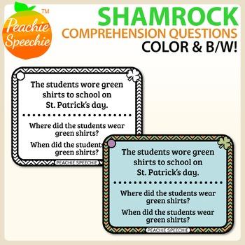 Shamrock Listening Comprehension Sentences
