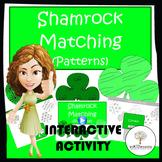 Shamrock Matching (Patterns)-Interactive Powerpoint