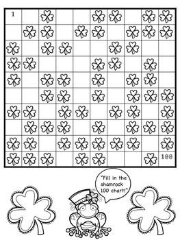 Shamrock Math Activities