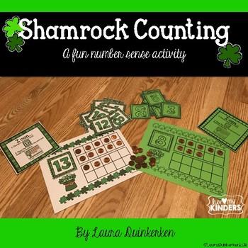 Shamrock Math Counting - A Fun Number Sense Activity