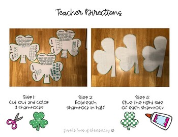 Shamrock Math Crafitivty (St. Patrick's Day)