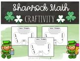 Shamrock Math Crafitivty (St. Patrick's Day)