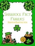 Shamrock Math Fact Families
