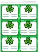 Shamrock Math Fact Families