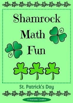 Shamrock Math Fun for St. Patrick's Day