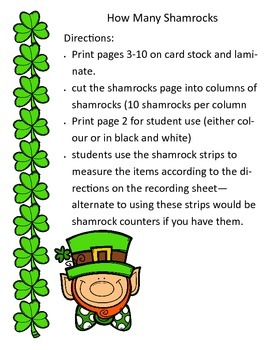 Shamrock Measuring