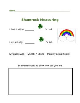 Shamrock Measuring Form