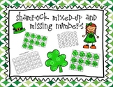 Shamrock Mixed Up and Missing Numbers {Common Core Differentiated Math Centers}