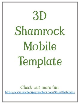 Shamrock Arts And Crafts Worksheets Teaching Resources Tpt