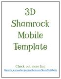 Shamrock Mobile Craft ~ St Patrick's day fun!