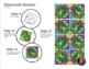 Shamrock Mosaic - Interactive Coloring Sheets - St. Patrick's Day Art Lesson