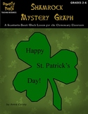 Shamrock Mystery Graph - St. Patrick's Day Coordinate Graphing