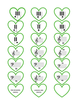 Shamrock Note Reading - St. Patrick's Day Piano Game