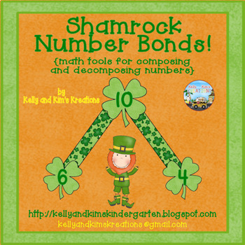 Shamrock Number Bonds! {math tools for composing and decomposing numbers}