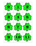 Shamrock Number Cards