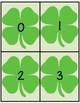 Shamrock - Number Flashcards