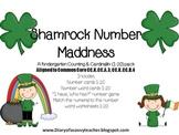 Shamrock Number Maddness for Kindergarten