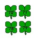 Shamrock Number Matching Activity for Preschool numbers 0-100