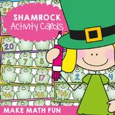 Shamrock Number Order - Math Center Activity Cards