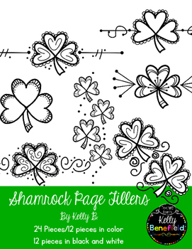 Shamrock Page Fillers