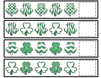 Shamrock Pattern Cards