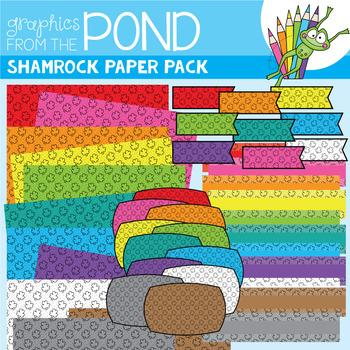 Shamrock Pattern Paper Pack