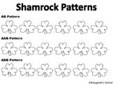 Shamrock Pattern Worksheet