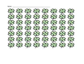 Shamrock Patterning and Estimating
