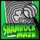 Shamrock Pictorial Maze