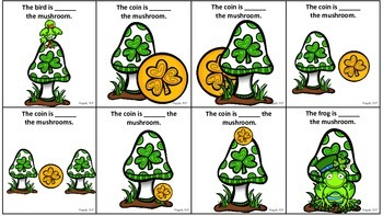 Shamrock Prepositions for Expressive and Receptive Language